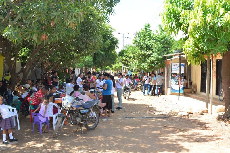 Esta población de Bello Horizonte presenta muchas necesidades como la falta de alimentación.