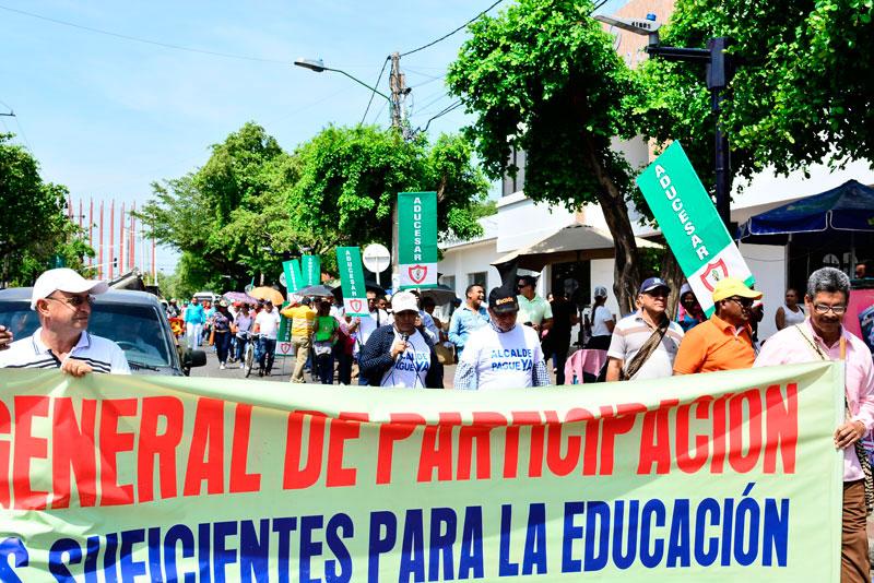 Además de los incumplimientos de los acuerdos por el Gobierno, y la desfinanciación de la educación superior, los maestros protestarán contra la ley de financiamiento.