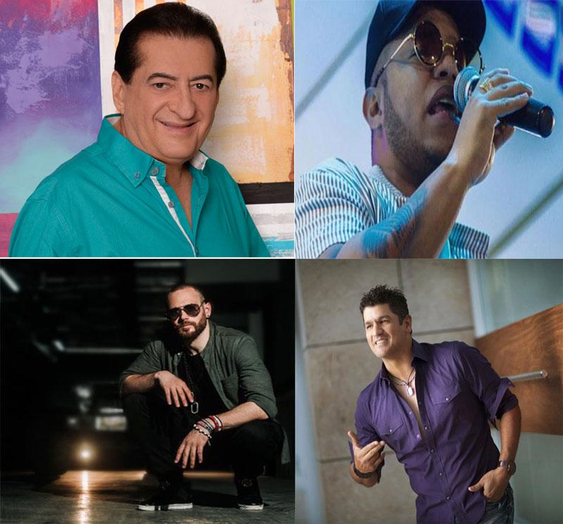 Eddy Herrera, Jorge Oñate, Mohrez y Koffe Kaffetero conforman la nómina de artistas del Concierto de los Santos Reyes.