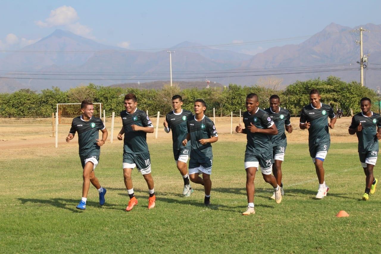Valledupar FC trabaja para ponerse en forma.