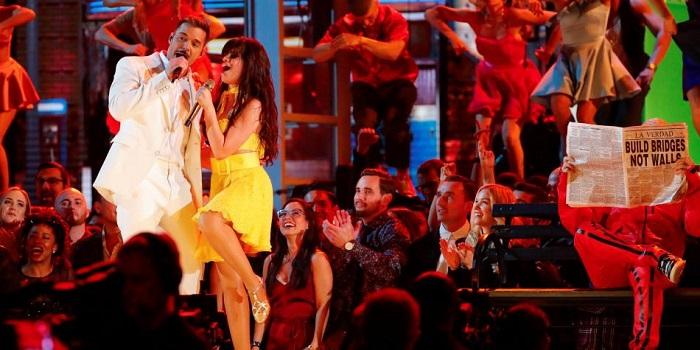 Mensajes de crítica y apoyo a Donald Trump en los Grammy 2019