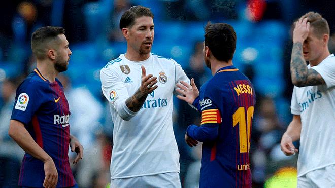 Nuevo encuentro entre Lionel Messi y Sergio Ramos, esta vez en la Copa del Rey.