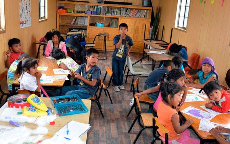 Los estudiantes indígenas tienen garantizado el Programa de Alimentación Escolar durante el año lectivo.