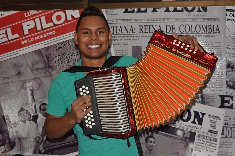 El joven estudiante de Ingeniería de Minas de la Fundación Universitaria del Área Andina.  Foto SERGIO MCGREEN