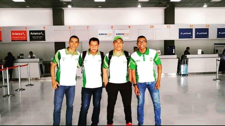 Estos son los deportistas que buscarán marcar un nuevo precedente en el atletismo colombiano.   Foto: Cortesía.