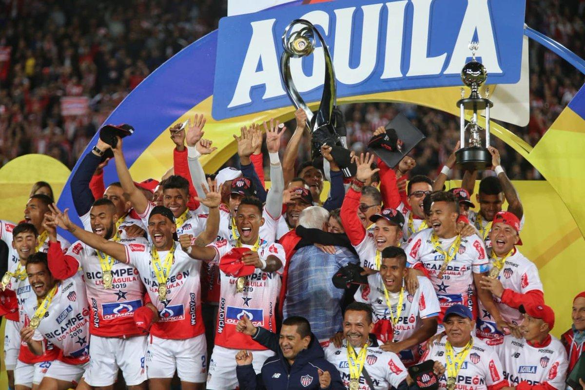 Junior es bicampeón de la Liga Águila.  CORTESÍA