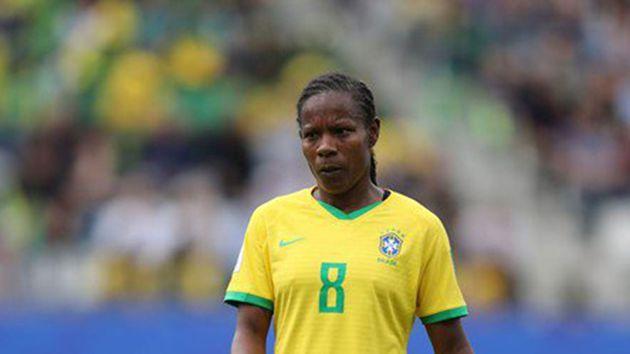 Miraildes Maciel Mota, una deportista que se adueñó del record de mayor participación en mundiales de fútbol.  REFERENCIA