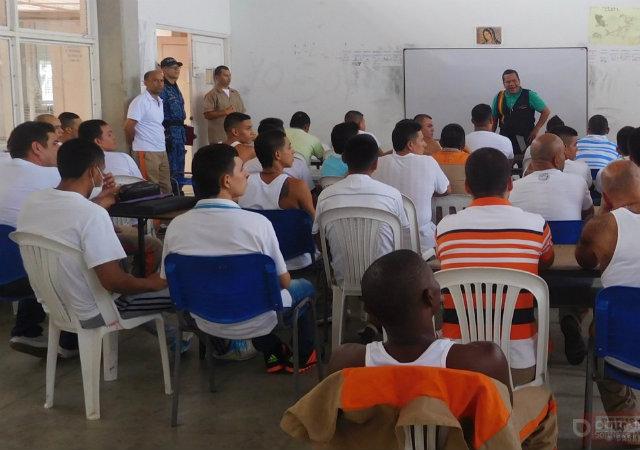 Las pruebas se realizarán en 102 centros de reclusión en el país.   FOTO: CORTESÍA