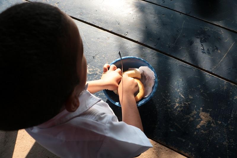 La idea es empezar el programa de alimentación con el calendario académico.   FOTO/ARCHIVO.