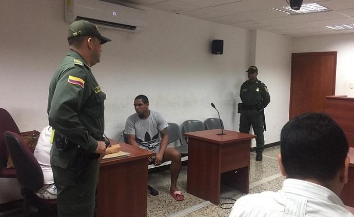Carmelo Campo Rivera en las audiencias preliminares.