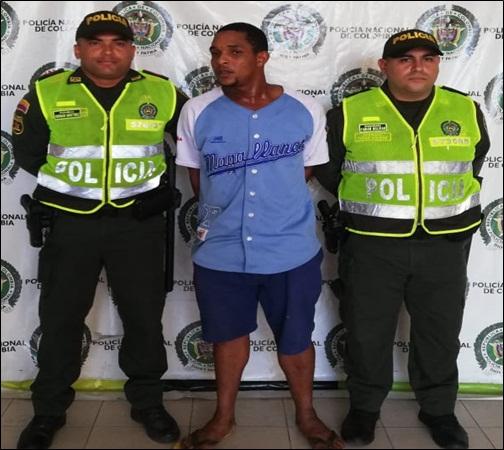 Carmelo Campo Rivera, capturado.   FOTO/JUDICIALES.
