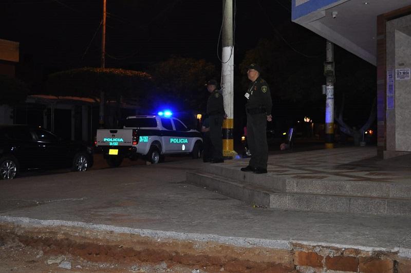 La Policía y el Ejército realizaron patrullajes durante la noche del sábado y madrugada del domingo.   FOTO/JOAQUÍN RAMÍREZ.