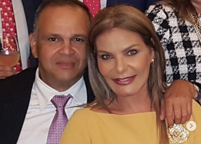 María Mónica Hernández y José 'Ñeñe' Hernández.   FOTO/CORTESÍA.