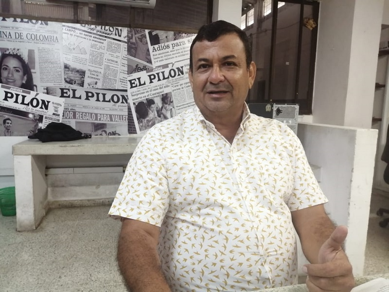 Celso Moreno, alcalde de Chimichagua.