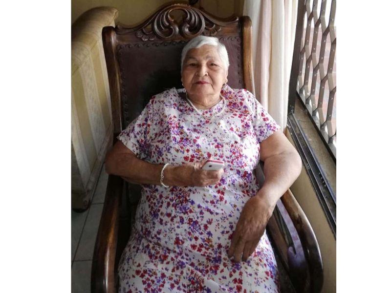 Rosalbina Serrano, hizo historia al lado del Rey Vallenato Luis Enrique Martínez.  FOTO/CORTESÍA.