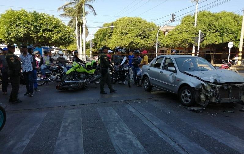 Los motociclistas son los que más se ven involucrados en los accidentes.   FOTO/ARCHIVO.