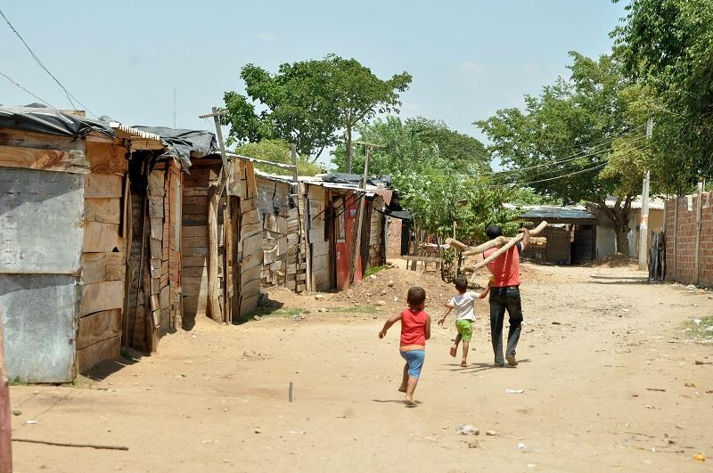 Un hogar de 4 personas en Valledupar que tenga ingresos mensuales inferiores a $1.307.620.   FOTO/ARCHIVO.
