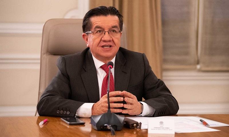 Ministro de Salud, Fernando Ruiz.   FOTO/CORTESÍA.