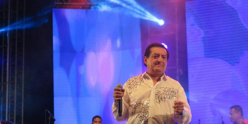 Jorge Oñate, cantante vallenato.   FOTO/CORTESÍA.