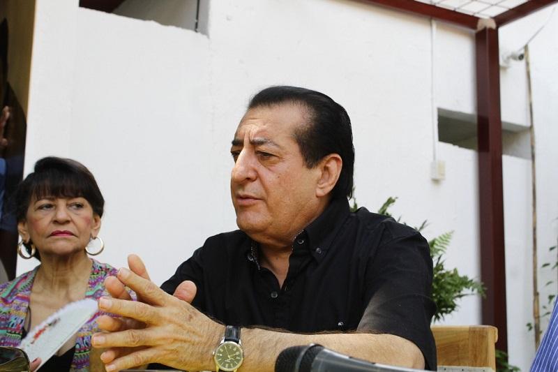 El cantante Jorge Oñate está hospitalizado desde el pasado 18 de enero.   FOTO/JOAQUÍN RAMÍREZ.