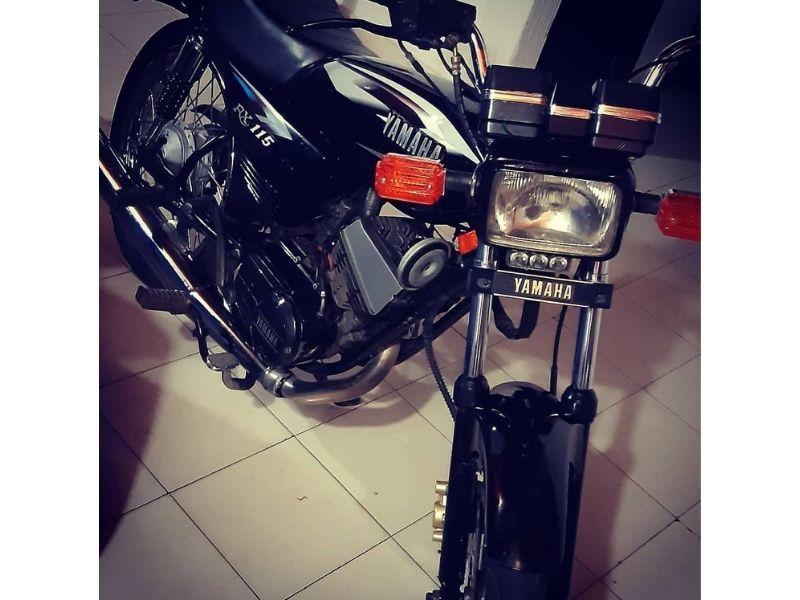 Esta es la moto que se robaron.  Foto/Cortesía.