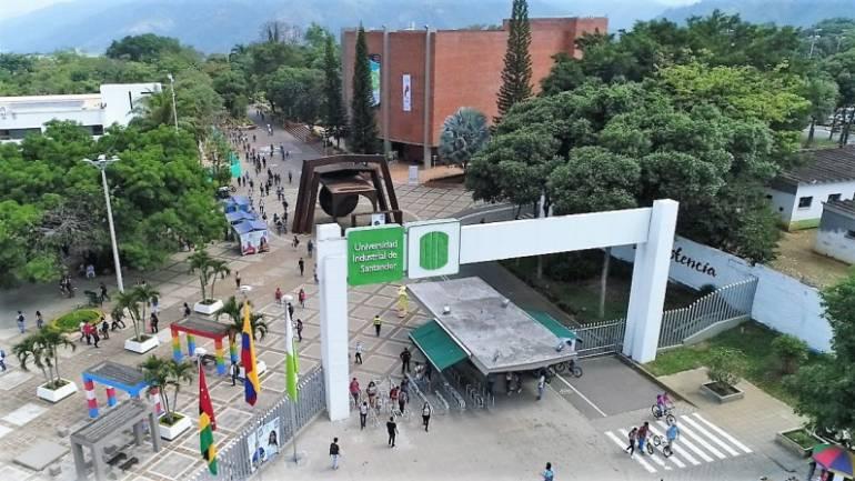 Universidad Industrial de Santander, UIS.   FOTO: CORTESÍA.