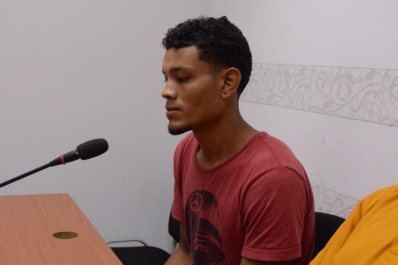 Brayan Díaz compareció a la audiencia.  FOTO/ARCHIVO.