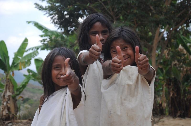 Entre el 5 y 10 de abril se hará una mesa de trabajo sobre la necesidad educativa de los 42 niños wiwa que no están en el Simat.  IMAGEN DE REFERENCIA.