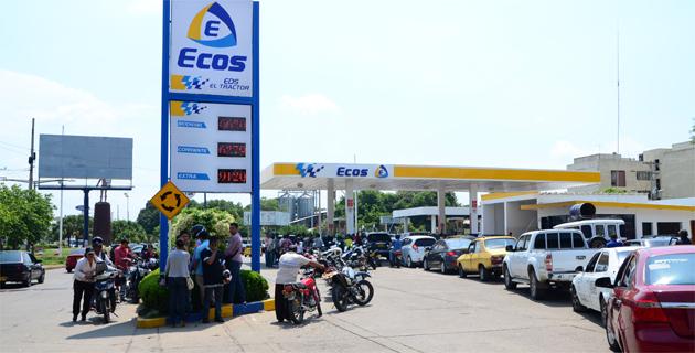 En Valledupar el cupo de combustible es de 3.660.000 galones.  FOTO/JOAQUÍN RAMÍREZ.