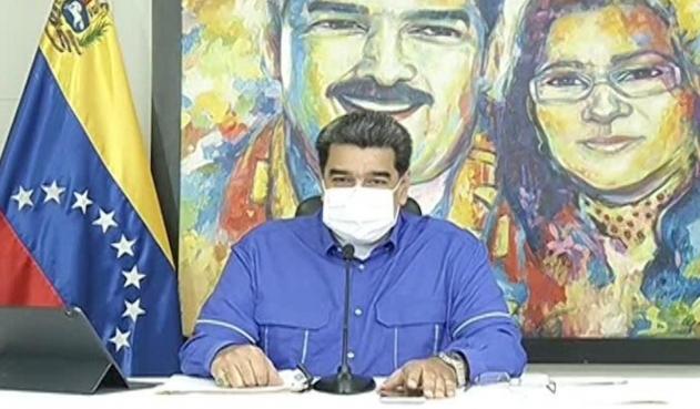 Nicolás Maduro, presidente de Venezuela.   FOTO/CORTESÍA.