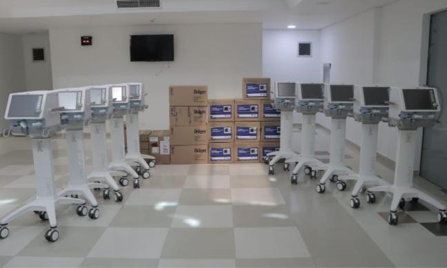 En los próximos días llegarán 30 bombas de infusión al centro médico Clinivida.   FOTO: CORTESÍA.