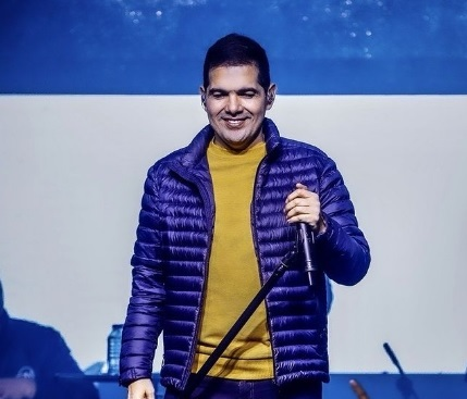 Peter Manjarrés, cantante vallenato.  FOTO: CORTESÍA.