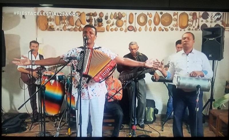 La Fiesta Celestial se realizó en Valledupar en un formato virtual.     FOTO: CORTESÍA.