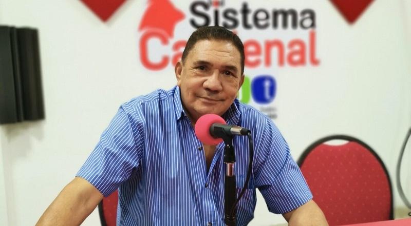 Fabio Zuleta, locutor y humorista.     FOTO: CORTESÍA.