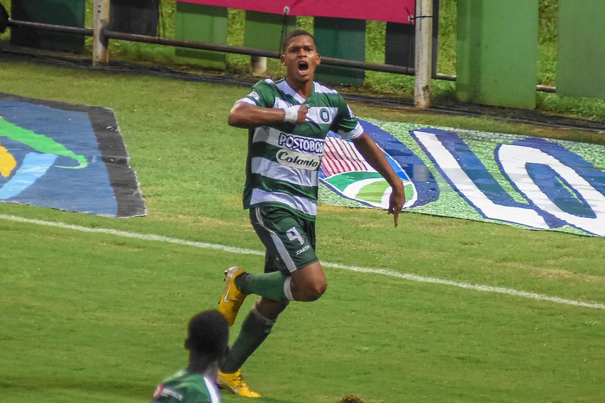 Harlin Ramírez le marcó gol a uno de sus ex equipos, Unión Magdalena.