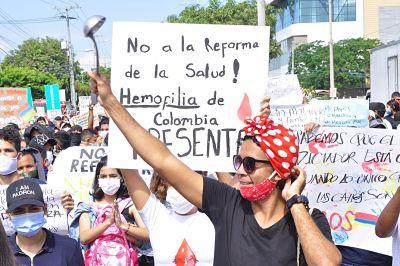 De acuerdo a Caribe Afirmativo la discriminación a esta población es un flagelo que los afecta.  Foto: Joaquín Ramírez.