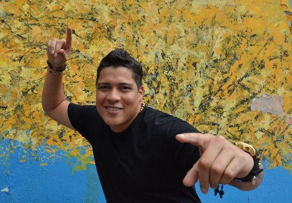 Rafa Pérez, cantante vallenato.  FOTO: ARCHIVO.