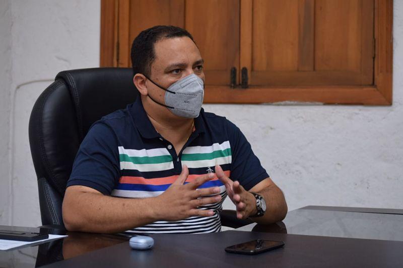 Presidente del Concejo de Valledupar, Manuel Gutiérrez.