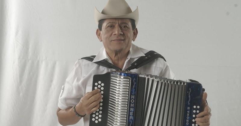 Emiliano Zuleta Díaz, acordeonero.     FOTO: CORTESÍA.