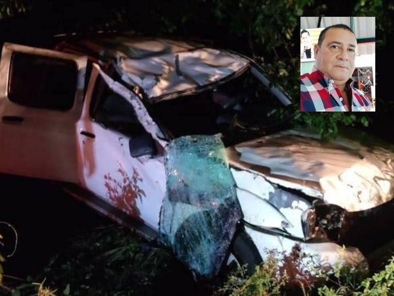 José Santo Valencia sufrió el accidente el pasado sábado.  FOTO: CORTESÍA.