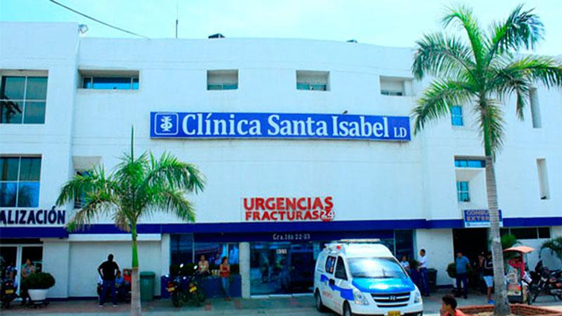Carmen Celina Zuleta murió cuando era atendida en la Clínica Santa Isabel.  IMAGEN DE REFERENCIA.