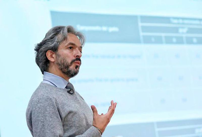 Director del Dane, Juan Daniel Oviedo. Foto: cortesía.