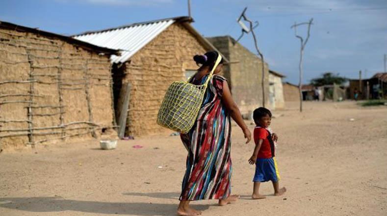 Más del 50 % de la población guajira vive en la pobreza.