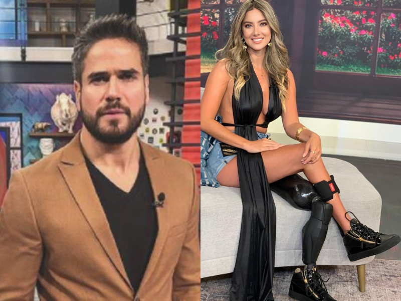 Daniel Arenas y Daniella Álvarez.