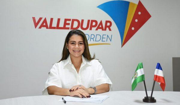 Soledad Manjarrez, gerente de Emdupar.