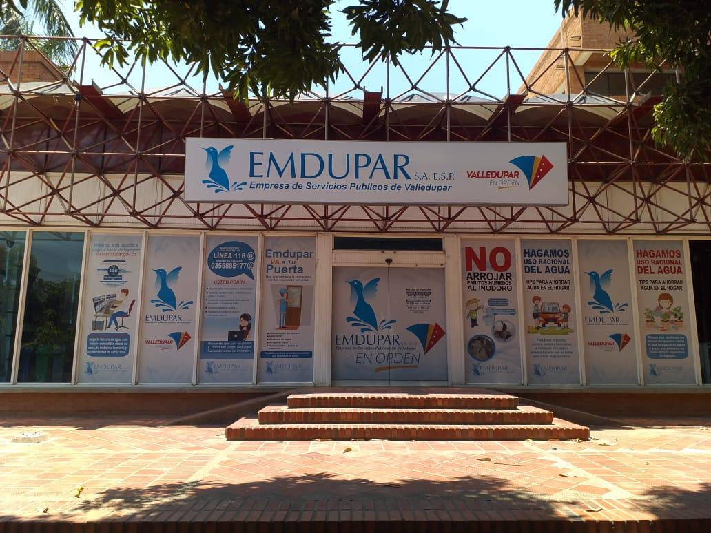 Sede de Emdupar.