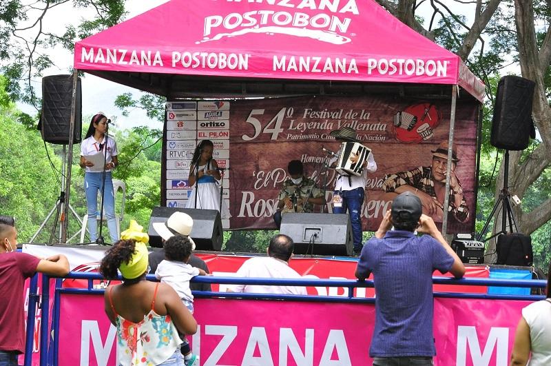 16 niños y 7 niñas luchan por el galardón de rey y reina vallenata del Festival Vallenato 2021.    FOTO: JOAQUÍN RAMÍREZ.