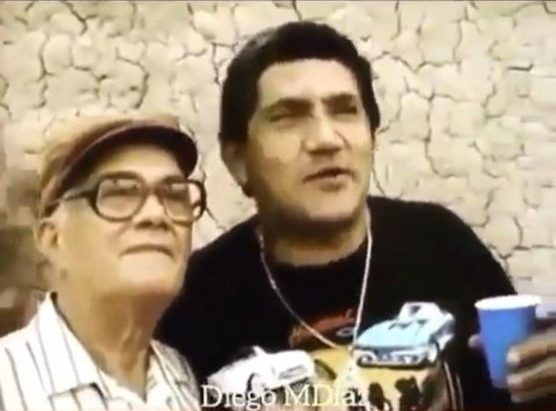 Poncho Zuleta y Emiliano Zuleta Baquero. Imagen de referencia.