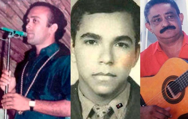 Octavio Daza, Freddy Molina y Hernando 'Nando' Marín, compositores fallecidos.    FOTO: CORTESÍA.