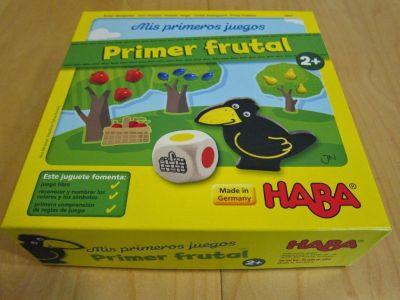 Primer frutal de Haba España